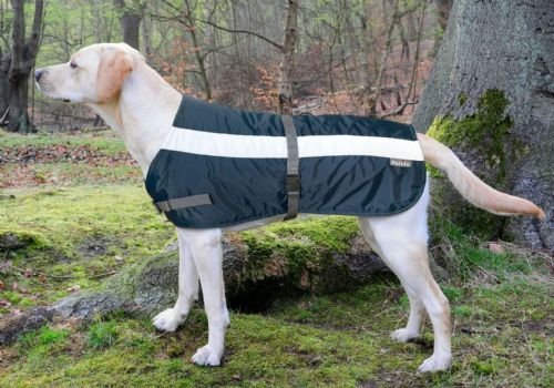 "Sale! Petlife Flecta 3-in-1 Dog Jacket (30"" navy)"